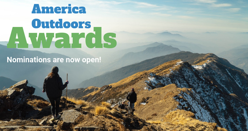 America Outdoors Nominations are open