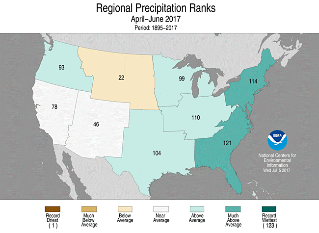regional precipitation map